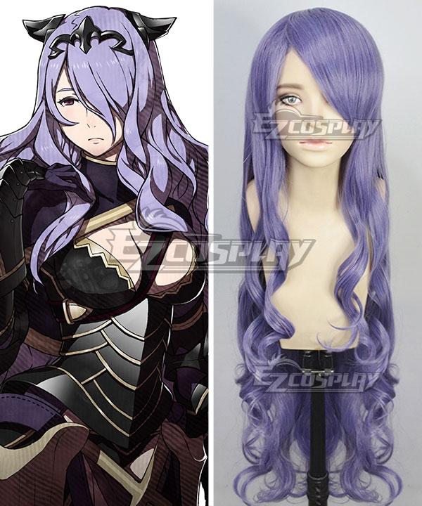 Fire Emblem Fates Camilla Purple Cosplay Wig