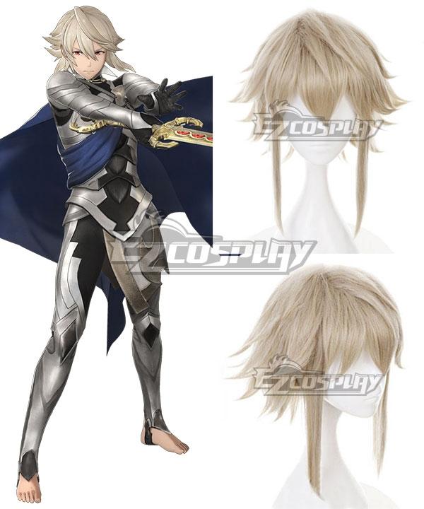 Fire Emblem Fates If Birthright Conquest Avatar Corrin Kamui Grey white Cosplay Wig