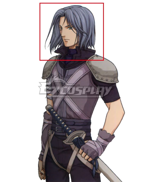 Fire Emblem: Path of Radiance Zihark Blue Cosplay Wig