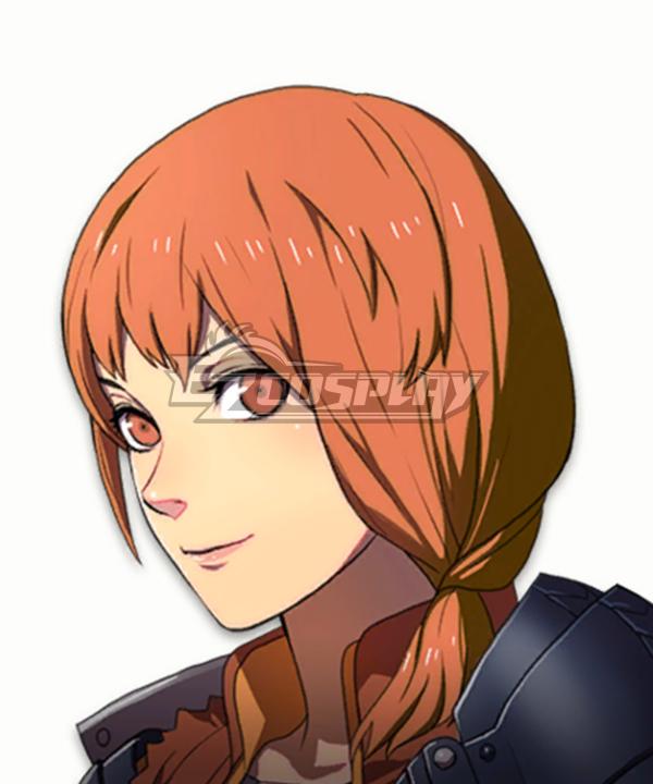 Fire Emblem: Three Houses 5 Years Leonie Orange Cosplay Wig
