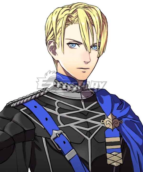 Fire Emblem: Three Houses Dimitri Alexandre Bladud Golden Cosplay Wig