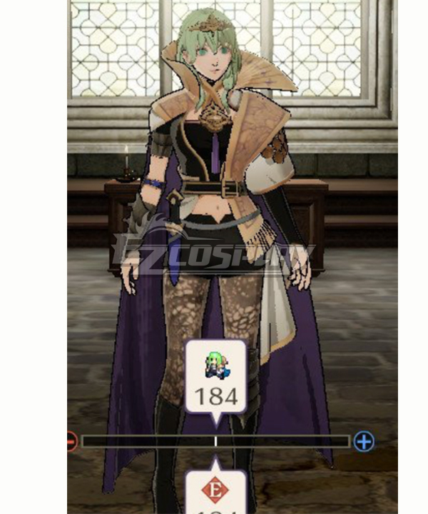 Three Houses Male Byleth Enlightened One Cosplay Costume Men Outfit Fire Emblem