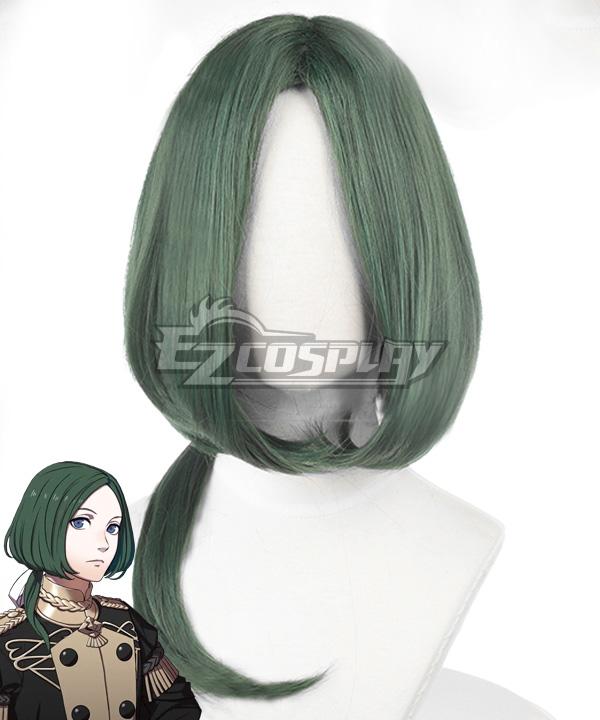 Fire Emblem: Three Houses Linhardt Green Cosplay Wig