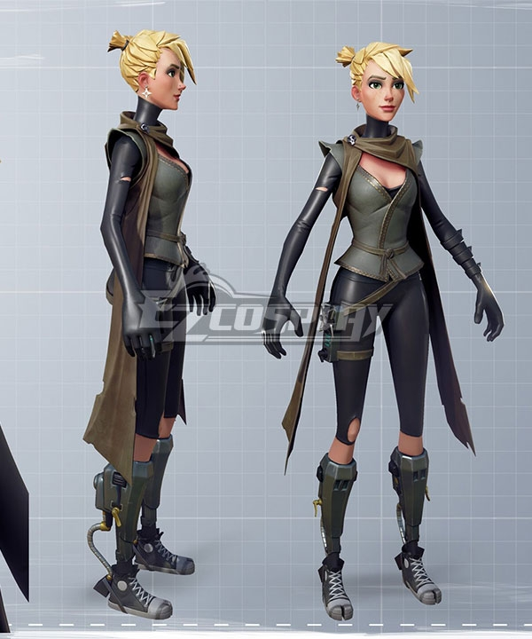 Fortnite Battle Royale Female Ninja Cosplay Costume