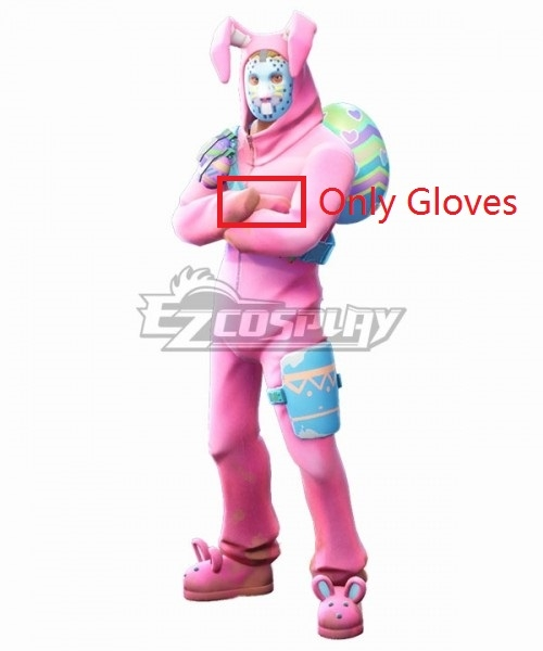Fortnite Battle Royale Rabbit Raider Gloves Cosplay Accessory Prop