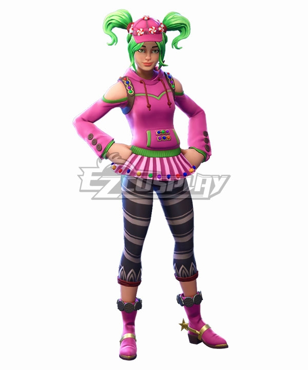 Fortnite Battle Royale Zoey Cosplay Costume