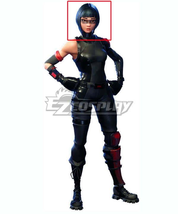 Fortnite Battle Royale: Shadow Ops Skin Blue Cosplay Wig
