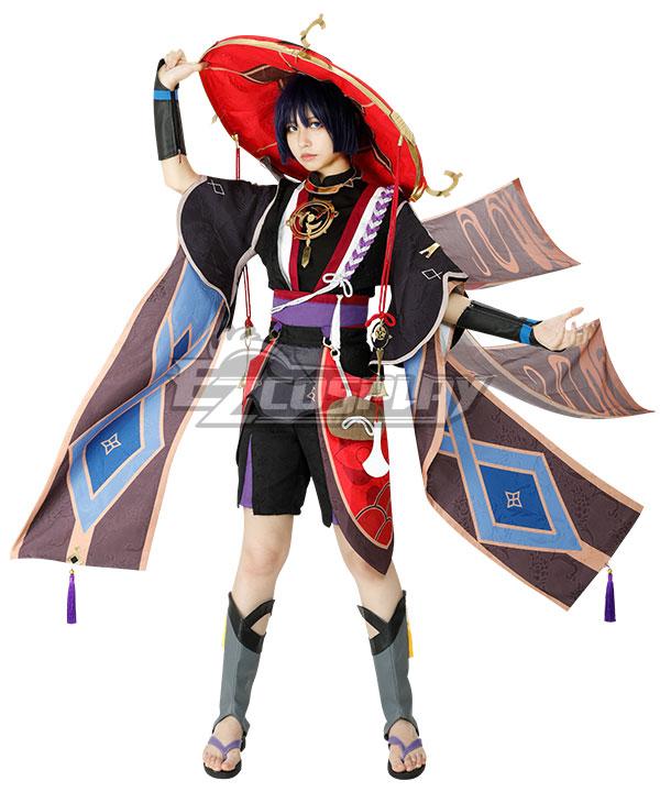 Genshin Impact Scaramouche Cosplay Costume