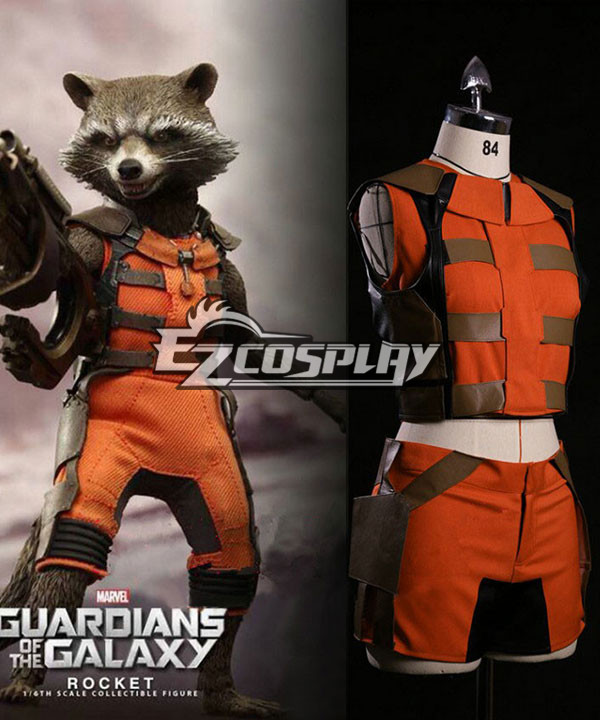 Guardians of the Galaxy Rocket Raccoon Cosplay Costume