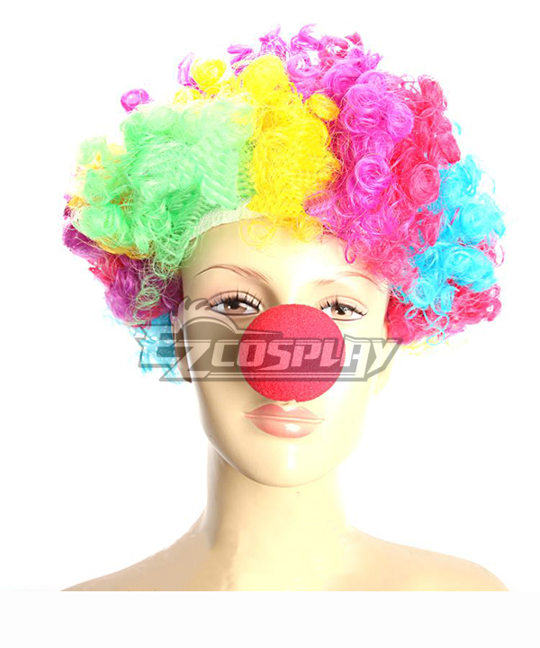 Halloween Clown Red Nose Cosplay Accessory