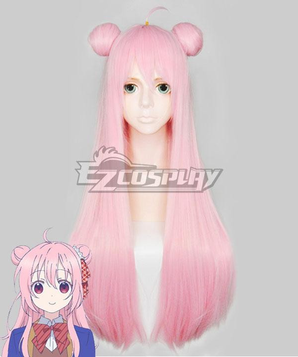 Happy Sugar Life Satou Matsuzak Pink Cosplay Wig