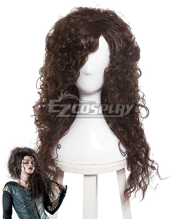 Harry Potter Bellatrix Lestrange Brown Cosplay Wig