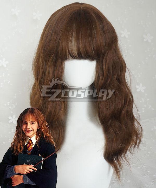Harry Potter Hermione Jane Granger Hermione Jean Granger Brown New Edition Cosplay Wig