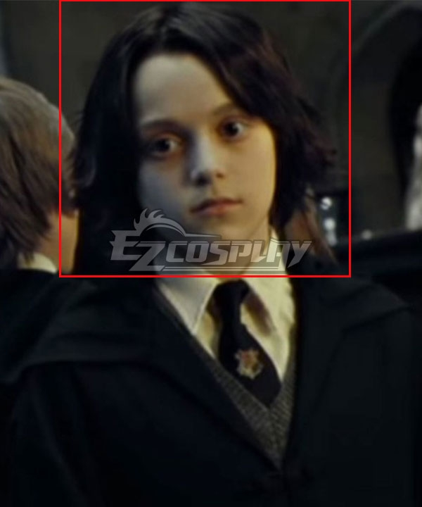 Harry Potter Young Severus Snape Black Cosplay Wig