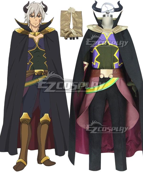 How NOT To Summon A Demon Lord Isekai Maou To Shoukan Shoujo Dorei Majutsu Takuma Sakamoto Diablo Cosplay Costume - New Edition