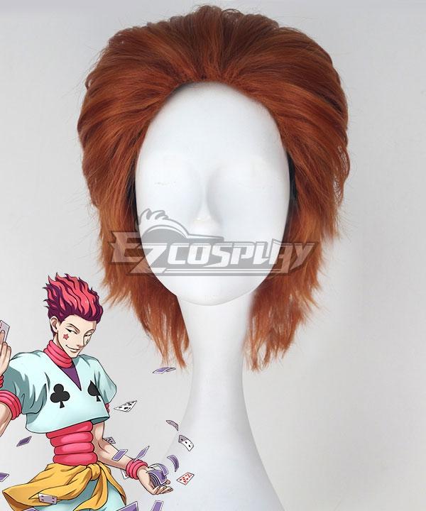 Hunter x Hunter Hisoka Morow Brown Cosplay Wig