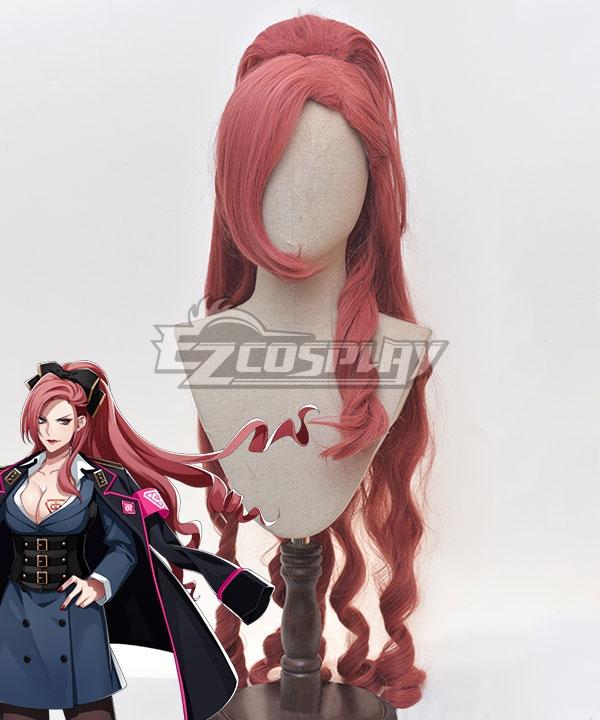 Hypnosis Mic Division Rap Battle Ichijiku Kadenokoji Pink Cosplay Wig