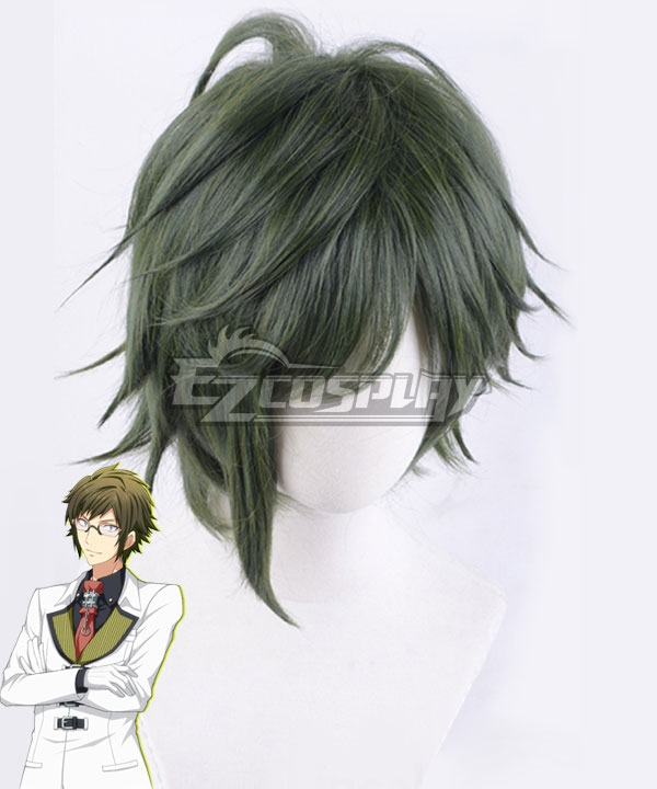 Idolish 7 Yamato Nikaido Drak Green Cosplay Wig
