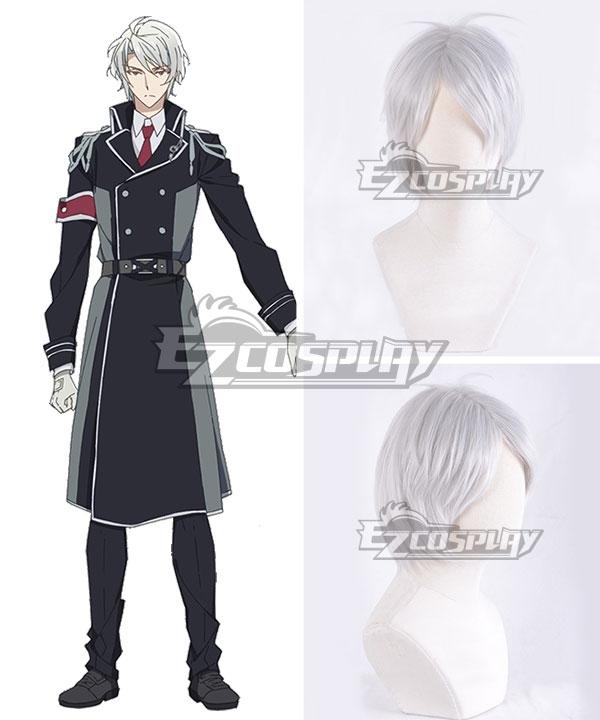 Idolish 7 Gaku Yaotome Silver White Cosplay Wig