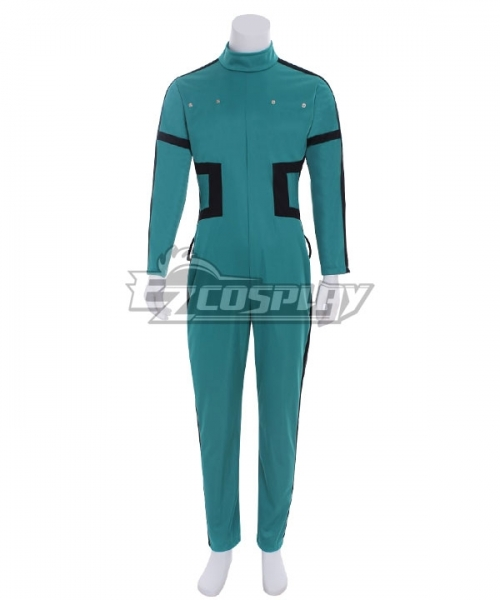 My Hero Academia Boku No Hero Akademia Izuku Midoriya Deku New Edition Gamma Suit 2.0 Cosplay Costume - Only Jumpsuit