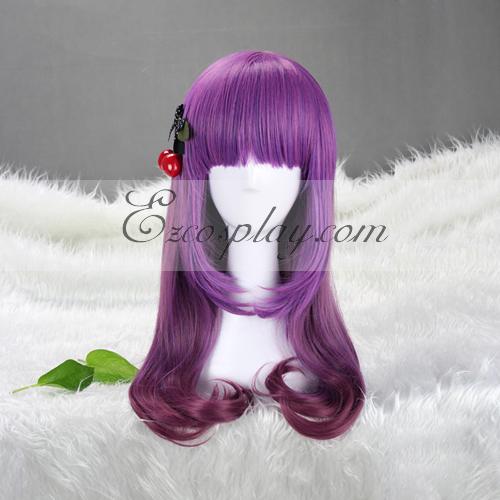 Japan Harajuku  Series Purple Shades Cosplay Wig-RL001