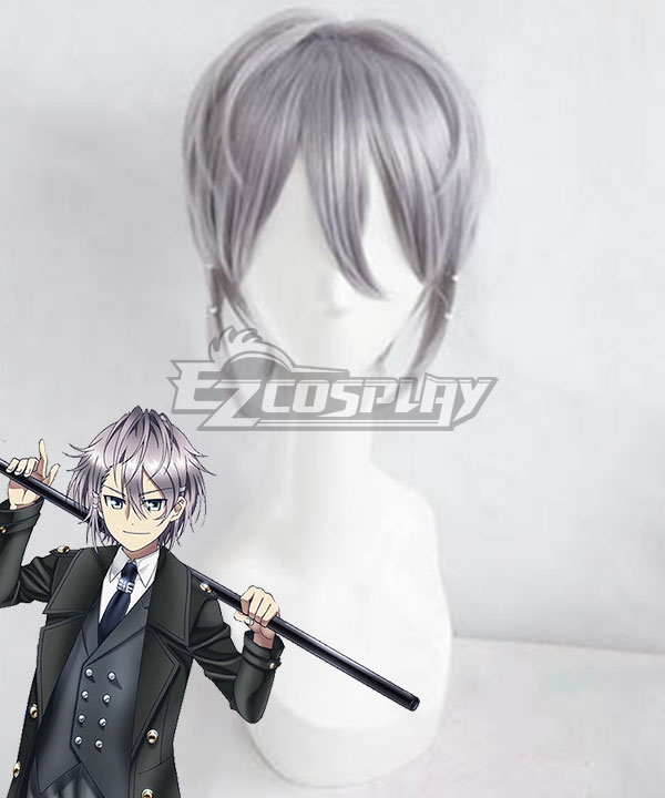 K Return Of Kings Sukuna Gojou Gray Cosplay Wig - Wig +Hair clips