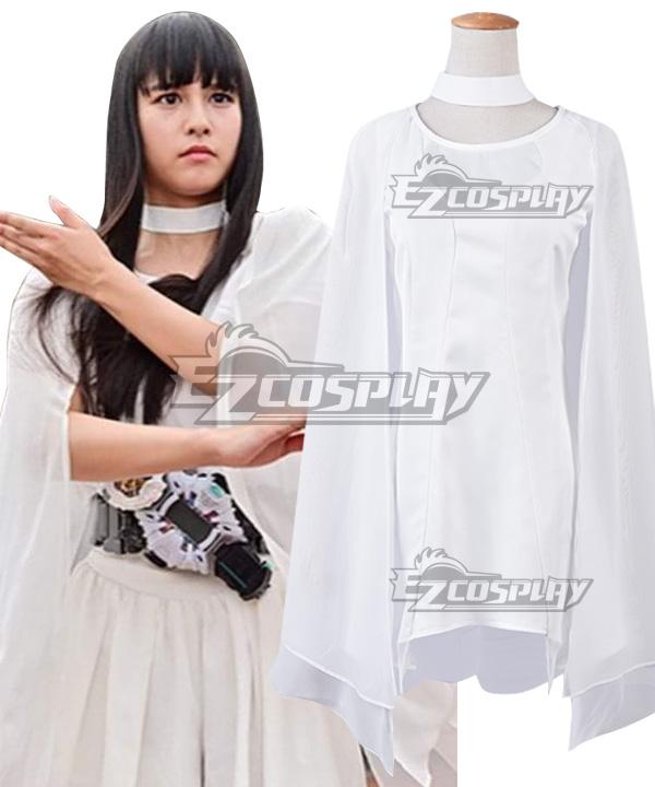 Kamen Rider Zi-O Tsukuyomi White Cosplay Costume