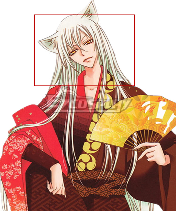Kamisama Love Kamisama Hajimemashita Tomoe White Long Cosplay Wig