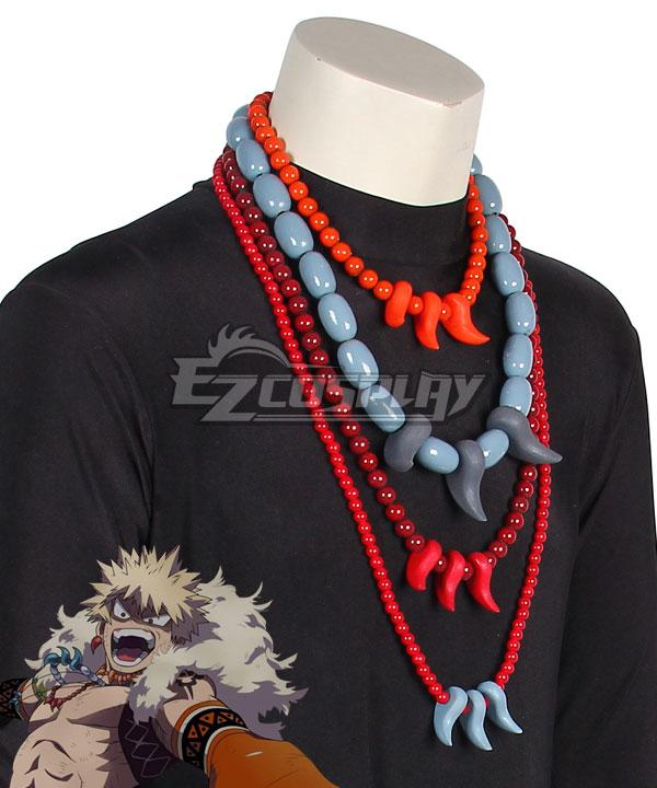 My Hero Academia Boku no Hero Akademia ED Katsuki Bakugo Necklace Cosplay Accessory Prop
