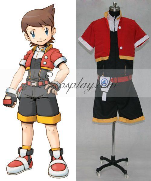 Pokemon Pocket Monster Ranger Kellyn Cosplay Costume