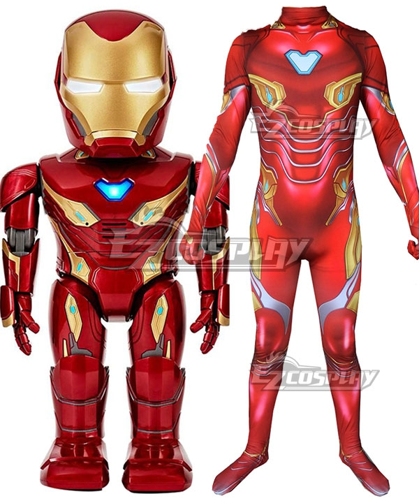 Costume | Marvel | Iron | Size | Man | Kid | Men