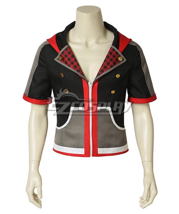 Kingdom Hearts Iii Kingdom Hearts 3 Sora New Edition Cosplay Costume - A Edition - Only Coat