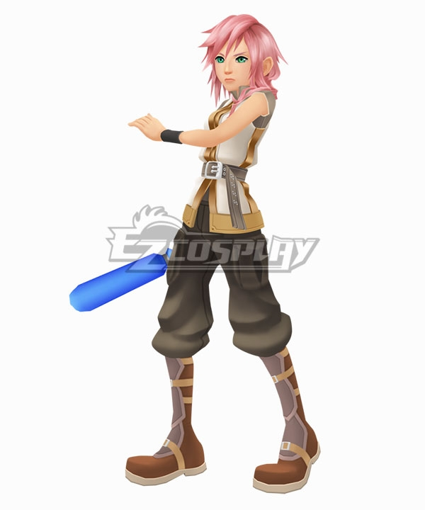 Kingdom Hearts III Lightning Cosplay Costume
