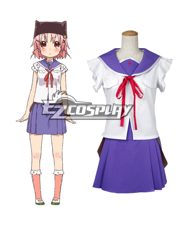 School-Live! Gakko Gurashi! Living at School! Yuki Takeya Takeya Yuki Cosplay Costume