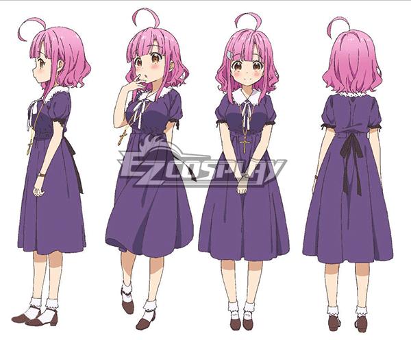 School-Live! Gakko Gurashi! Living at School! Megumi Sakura Sakura Megumi Cosplay Costume
