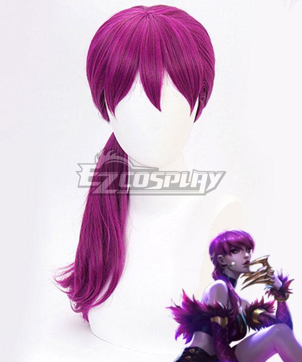League Of Legends LOL KDA K/DA Evelynn Purple Cosplay Wig