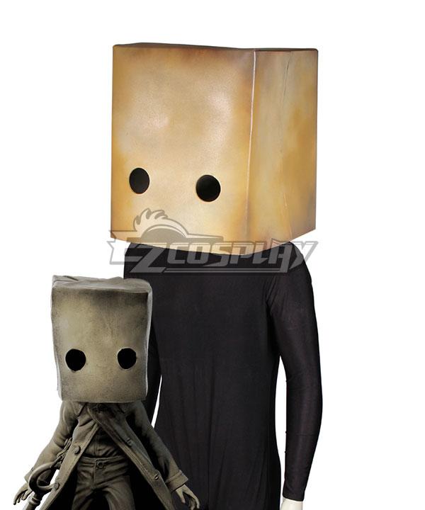 Little Nightmares 2 Mono The Key Halloween Head wear Cosplay Accessory Prop