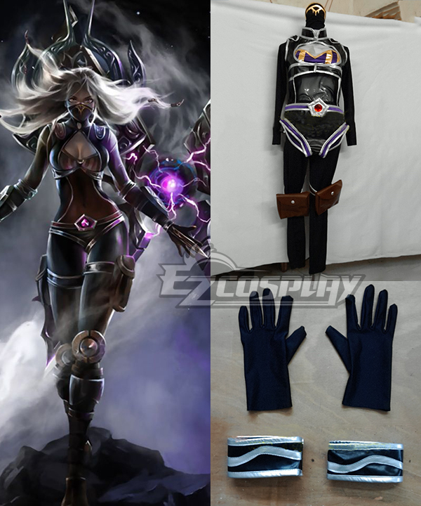 League of Legends LOL Irelia Nightsaber Cosplay Costume