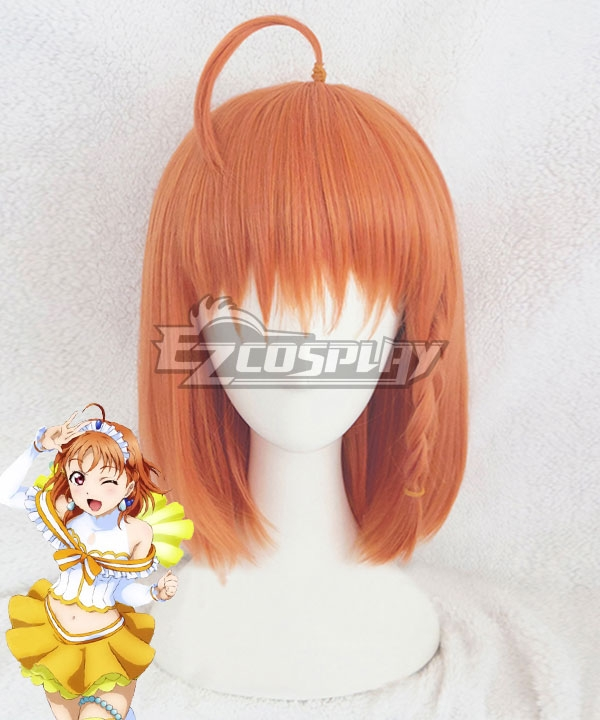 Love Live! Sunshine!! Chika Takami Orange Cosplay Wig