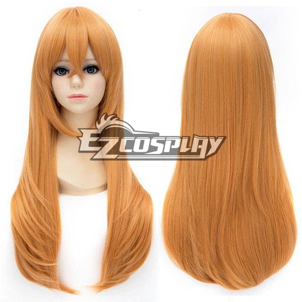Touken Ranbu Midare Toushirou Long Straight Orange Cosplay Wig