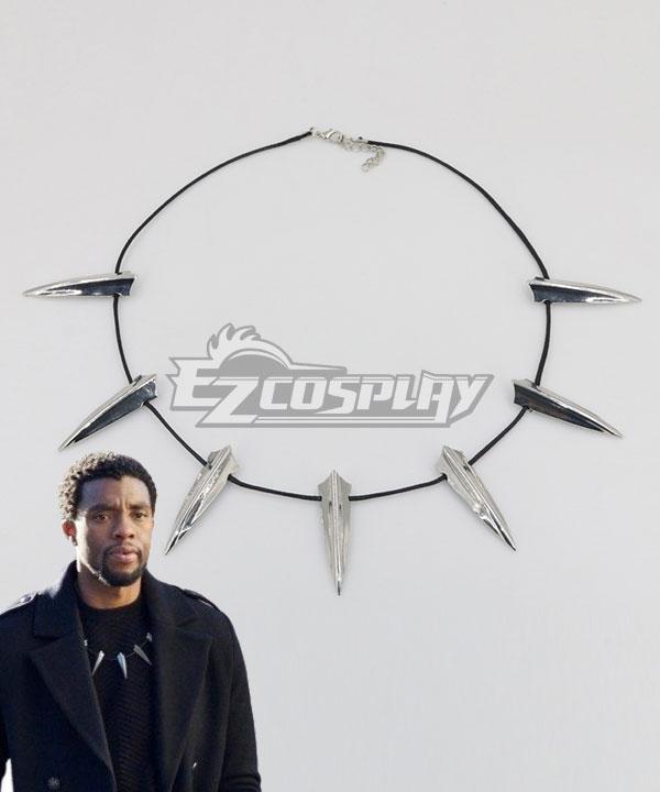 Necklace | Panther | Marvel | Movie | Black | Prop | Long