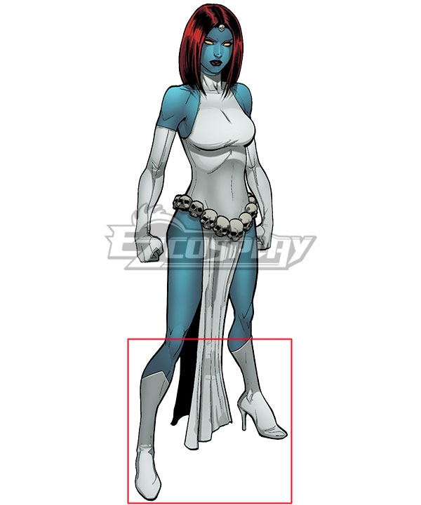 Classic   Marvel   X-Men   Comic   White   Shoe   Boot