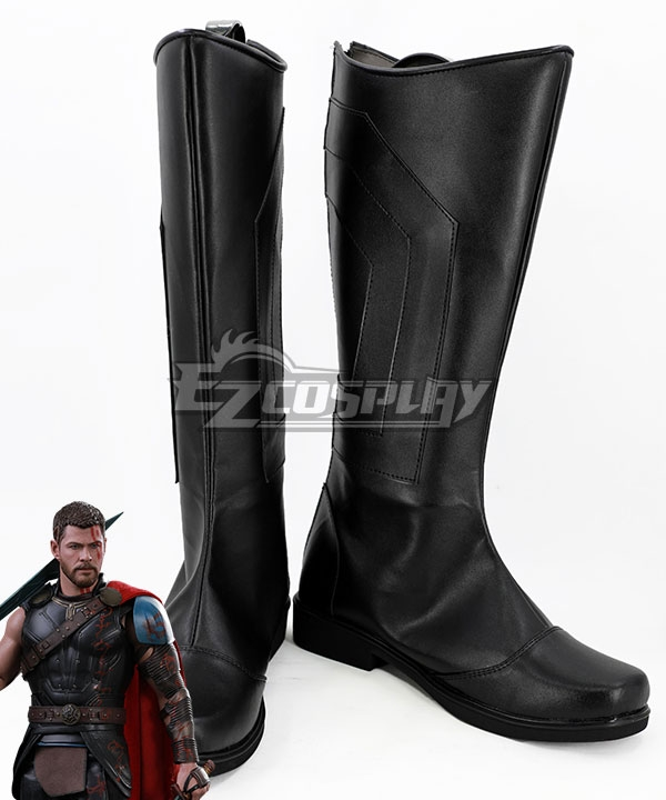 Marvel Thor: Ragnarok Thor Odinson Black Shoes Cosplay Boots