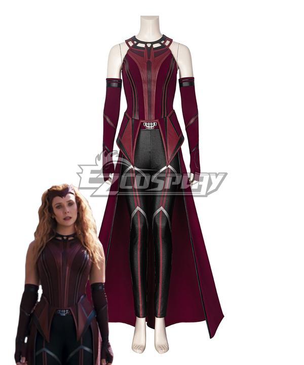 Marvel Wanda Vision Wanda Maximoff Witch Cosplay Costume