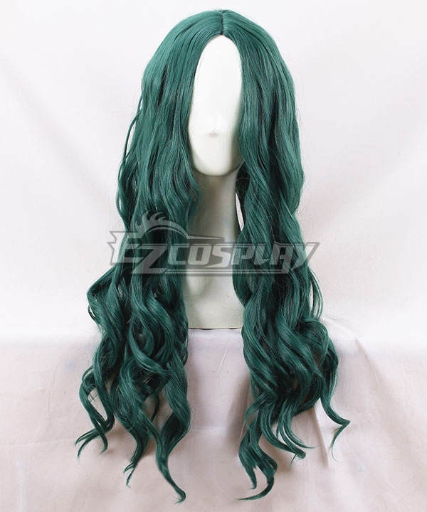 Marvel X Men The Gifted Polaris Lorna Dane Deep Green Cosplay Wig