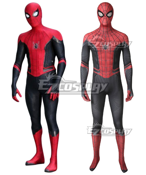 Mavel 2019 Spiderman Spider-Man: Far From Home Peter Parker SpiderMan Cosplay Costume