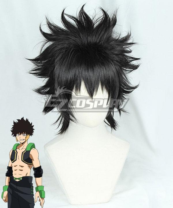 My Hero Academia Boku no Hero Academia Yo Shindo Black Cosplay Wig