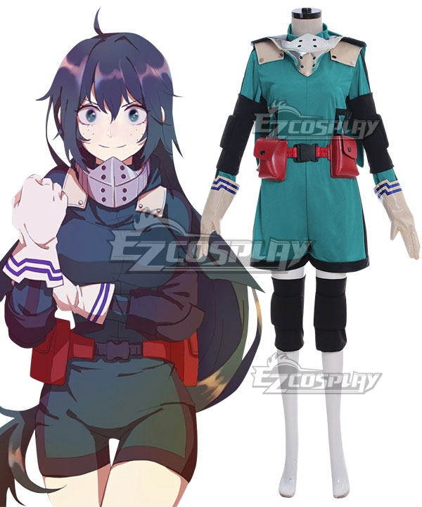 My Hero Academia Boku no Hero Akademia Izuku Midoriya Cosplay Jumpsuit Outfit YY