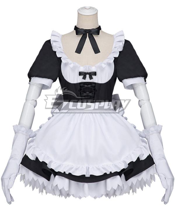 My Hero Academia Boku no Hero Akademia Himiko Toga Maid Cosplay Costume