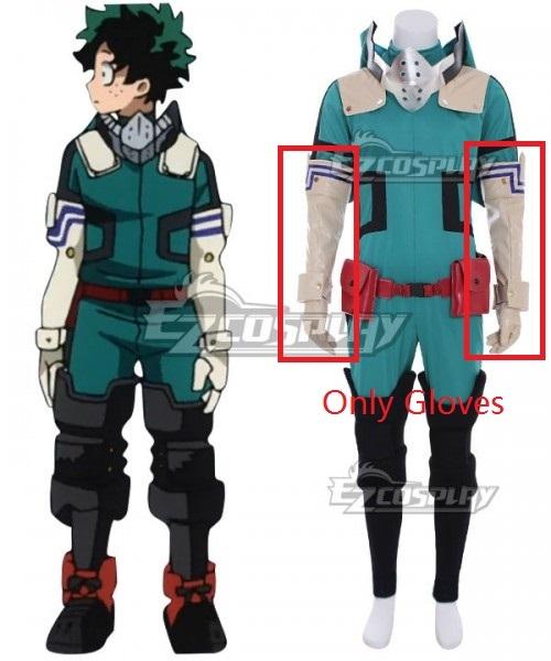 My Hero Academia Boku No Hero Akademia Izuku Midoriya Deku New Edition Gamma Suit 2.0 Cosplay Costume - Only Gloves